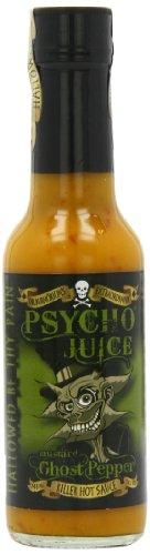 Psycho Juice Mostaza pimienta del fantasma (Pack de 2)