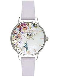 Olivia Burton Womens Analogue Quartz Watch with Leather Strap OB16PP50 47ed33d477
