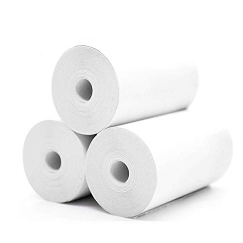 Tree-on-Life 3 Rollos Papel Adhesivo imprimible Papel