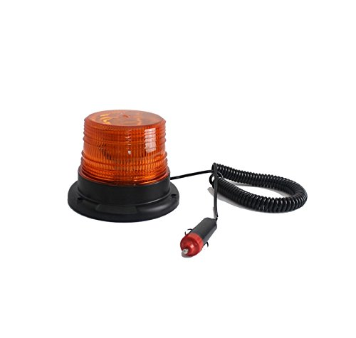 12-v-24-v-30-led-para-techo-de-coche-faro-intermitente-de-advertencia-plow-amber15-w-iman-base-stick