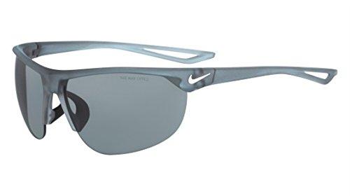 Nike Herren Cross Trainer Ev0937 Sonnenbrille, Silber (Mt Wf Wh W/Gry SIL FL), 67