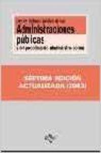 Ley reg. juridico adm. publicas procedimto administrativo 7ed. 2003 (Mari Saila)