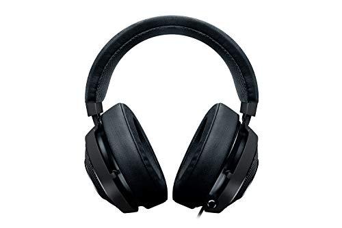 Razer Kraken 7.1 V2 Gunmetal - RGB Gaming Headset (mit Surround Sound in Gunmetal Design Einziehbares Mikrofon für PC, Robuster Unibody-Rahmen und 50mm Audiotreiber)