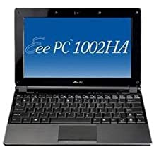 "Asus EEEPC 1002HA Ordinateur Portable 10"" WSVGA Intel Atom N270 Lecteur carte Webcam 1.3 Mpix Wifi Ethernet RAM 1 Go HDD 160 Go Gris foncé"