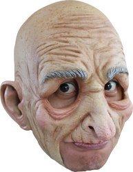 Generique - Alter Mann Maske für Erwachsene Halloween (Halloween-kostüme Alte Maske Mann)