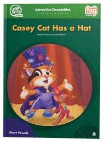 Leap Frog 90566 Tag InterACTIVE Dekodierbare Level 1 Buch Casey Katze hat einen Hut