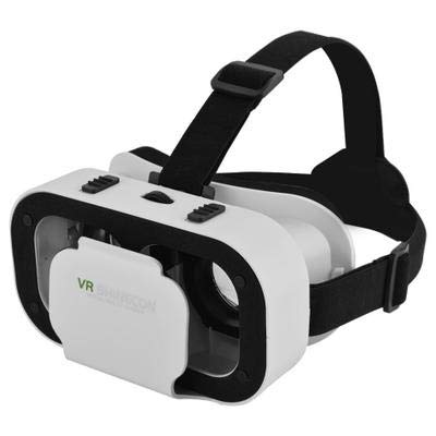 DIDIOI Vr Headset, VR Brille 3D-Virtual-Reality-Brille Ready Player One Osterei Filme Spiele für 4,0-6,0 Zoll Smartphone Universal-