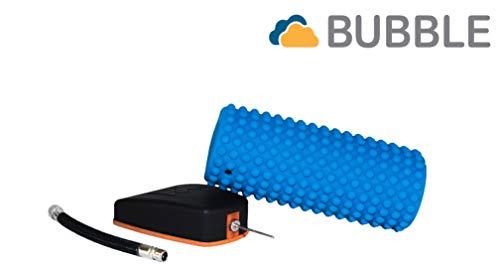 K-FORCE BUBBLE es una herramienta innovadora y versátil que mide variaciones de fuerza mediante la presión de aire. Capaz de adaptarse a los aparatos inflables que dispongan de válvula de aire, K-FORCE BUBBLE hará que te sea fácil medir valores ...