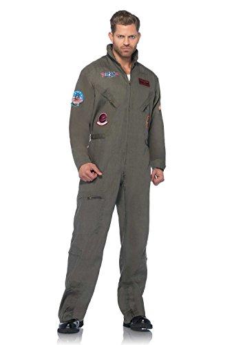 Leg Avenue Men'Top Gun Pilotenbrille Suit Flight s & Kostüm für Erwachsene