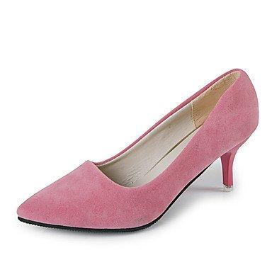 Moda Donna Sandali Sexy donna tacchi Primavera / Estate / Autunno Comfort PU Casual Stiletto Heel altri nero / rosa / grigio chiaro / grigio scuro altri gray