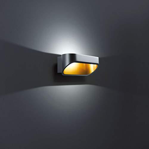 Helestra LED Downlight Onno Schwarz IP20 | LEDs fest verbaut 6W 400lm warmweiß | 18/1225.28