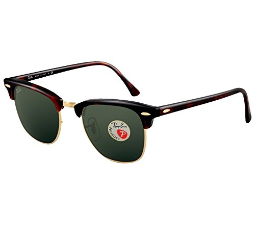 ray-ban-sunglasses-clubmaster-3016-49-mm-tortoise-frame-polarized-black-lens