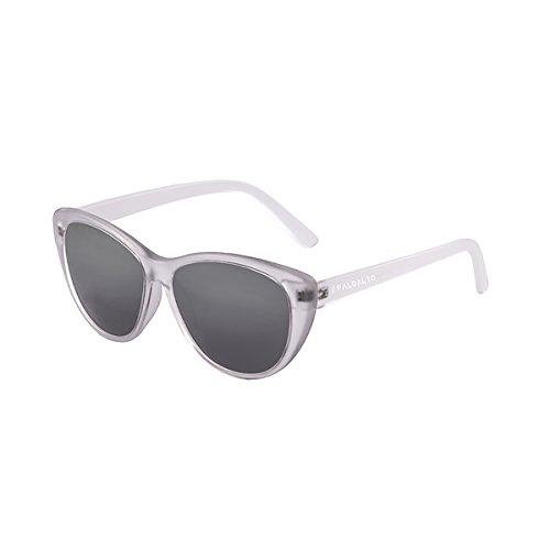 Paloalto Sunglasses zurriola Sonnenbrille Unisex Erwachsene, Weiß transparent