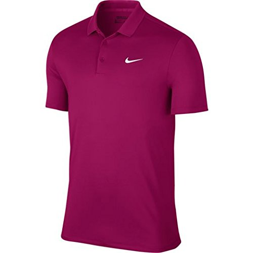 Nike M NK Dry Polo LC Victory Maillot manches courtes de golf pour homme, Rose (Sport Fuchsia / White), M