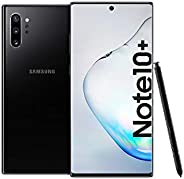 Samsung Galaxy Note 10+ Dual SIM 256GB 12GB RAM 4G LTE (UAE Version) - Aura Black - 1 year local brand warrant
