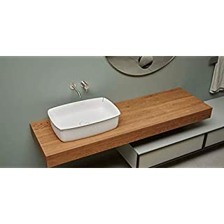 Antonio Lupi Flumood sinks Rectangular top mount sink BLOOM