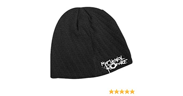 My Chemical Romance - Stitched Logo Beanie Hat  Amazon.co.uk  Sports    Outdoors 76f1718961fb