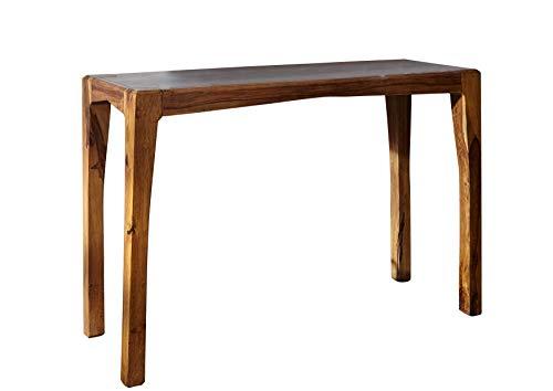 MASSIVMOEBEL24.DE Palisander massiv Holz Möbel lackiert Konsolentisch braun Sheesham massiv Möbel Massivholz Ancona #103