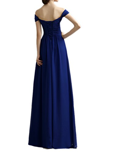 Ikerenwedding - Robe - Femme Small Bleu Marine