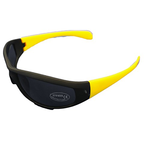 Unisex UV400-Sonnenbrille für Sonnenschutz im Urlaub, Schwarz