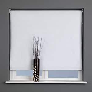 Sunlover Thermal Blackout Roller Blind, White, W120cm