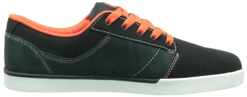 Etnies JEFFERSON Herren Sneaker Schwarz (BLACK/DARK GREY/RED 565)
