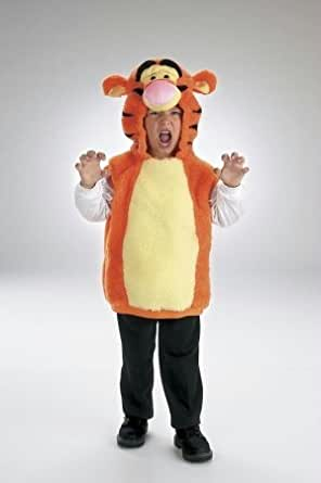 Costumes For All Occasions Dg5619S Vest Tigger 1 To 2
