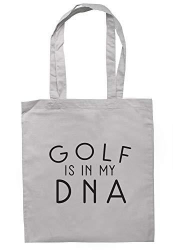 illustratedidentity Golftasche mit langen Griffen, 37,5 x 42 cm, Grau - hellgrau - Größe: Einheitsgröße - Lg Golf Shirt