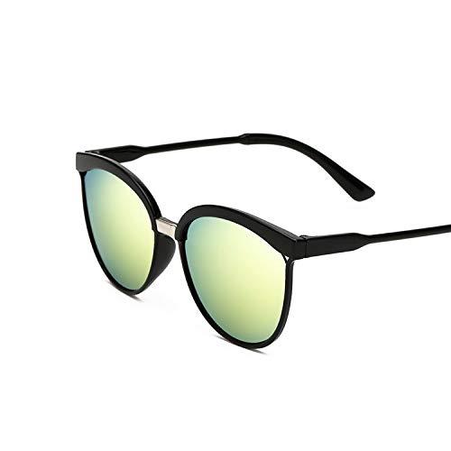 YUHANGH Mode Cat Eye Sonnenbrille Frauen Übergroßen Steampunk Vintage Sonnenbrille Für Damen Retro Farbe Linse Sonnenglas