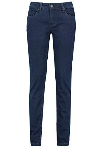 Eight2Nine Damen Jeans Hose Slim Fit & 5-Pocket Schnitt Dark-Blue XS
