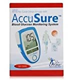 Accusure Test Strips, 50 Strips Multicolor(Only Strips)