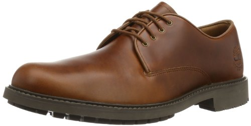 Timberland EK Stormbucks FTM_StormbucksPlain Toe Oxford Herren Oxford Schnürhalbschuhe, Braun (Medium Brown), 44.5 Lace-up Oxford Schuhe