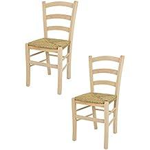 Amazon.it: sedie impagliate - Beige