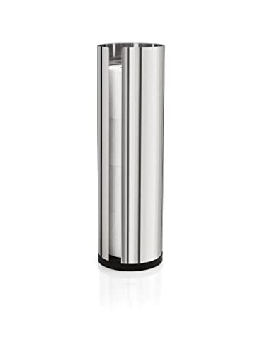Blomus 66658 Polished Stainless Steel Spare Toilet Paper Roll Holder by Blomus