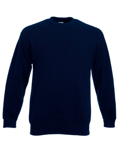 Fruit of the Loom Classic Set-In Sweat, Farbe:deep Navy, Größe:2XL -