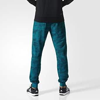 adidas - Pantalons et Collants - Pantalon de survetement Paper Print - Eqt Green S16 - XL