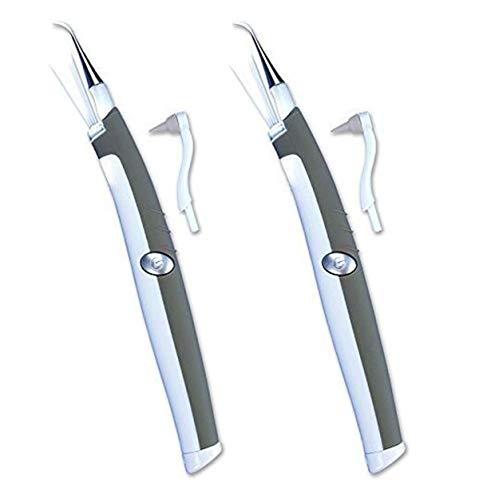 Sonic PIC Dental Cleaning Polieren Vibrierendes Beauty-Instrument, Zahn-Dekontamination Aufhellung Zähne Mundhygiene-2 Packungen-Im Fernsehen Gesehen