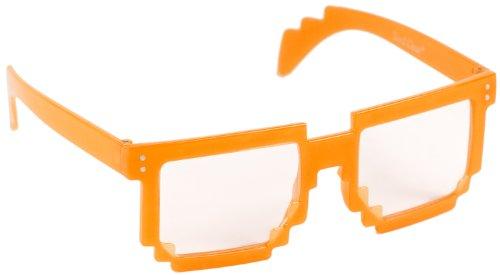 Spaß Party Brille Nerd LEUCHTET Brille Ray Style Geek Pantobrille Nerdbrille Lesebrille Hornbrille...