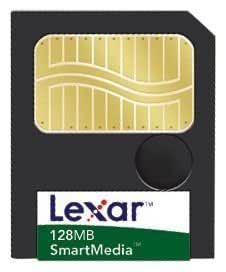 Carte mémoire flash 128 Mo SmartMedia Card SM128-266