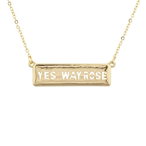 lux-accessories-gold-tone-yes-way-roses-name-plate-verbiage-necklace