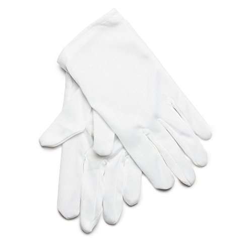 rubie-s-offizielle-kind-weiss-baumwolle-handschuhe-one-size