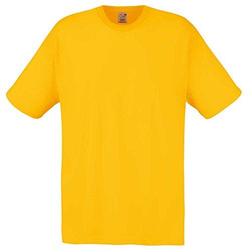 Fruit of the LoomHerren T-Shirt Sunflower