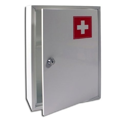 new-medical-cabinet-first-aid-wall-mounted-medicine-kit-tablet-box-white-home