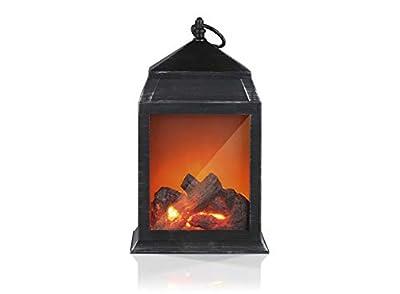 EASYmaxx LED-Kamin | Lodernde Flammen | Schwarz von DS-Produkte auf Heizstrahler Onlineshop