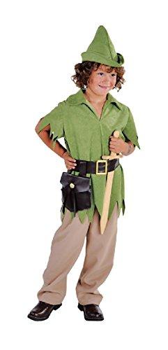 Jäger Kostüm Junge - M212027-164-A Jungen Robin Hood grün Jäger