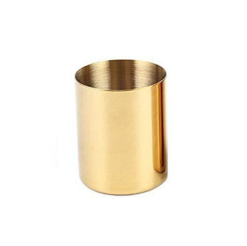 Jarrón latón dorado decoración hogar, jarrones