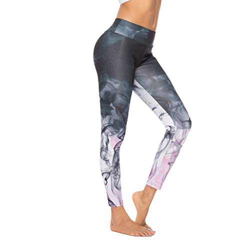 Routinfly 2019 Neue Damen Digital Printed Yoga Hosen,Frauen Sport Bottom Pants Enge Hüfte Jogginghose Gym Athletic Hose Jogging Training Leggings Fitness Hosen