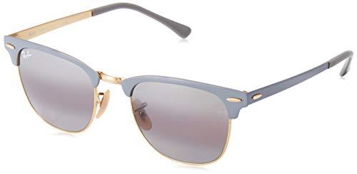 Ray-Ban Unisex-Erwachsene 0RB3716 Sonnenbrille, Schwarz (Gold On Top Matte Gre), 50