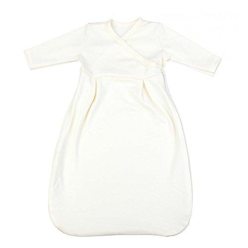 TupTam Baby Unisex Langarm Innenschlafsack, Farbe: Ecru, Größe: 62/68