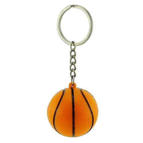DCFVGB Schlüsselbund Simulation Basketball Anhänger Schlüsselbund Hang Keyring Sportaktivitäten Schlüsselanhänger Inhaber Memorial Geschenke Schmuck (Schmuck-geschenk-card-inhaber)